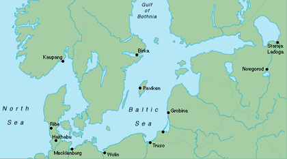 Harbours And Trade During The Viking Age Gotland Archaeological